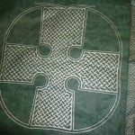 Celtic cross design of the green coloured Ecopod