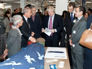 Mayor of London Boris Johnson at University of Kingston